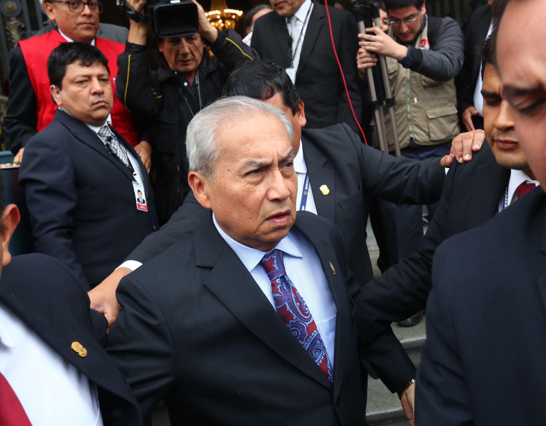 Archivan investigación  contra Pedro Chávarry