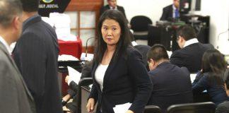 Ponencia de Blume recomienda aceptar habeas corpus de Keiko