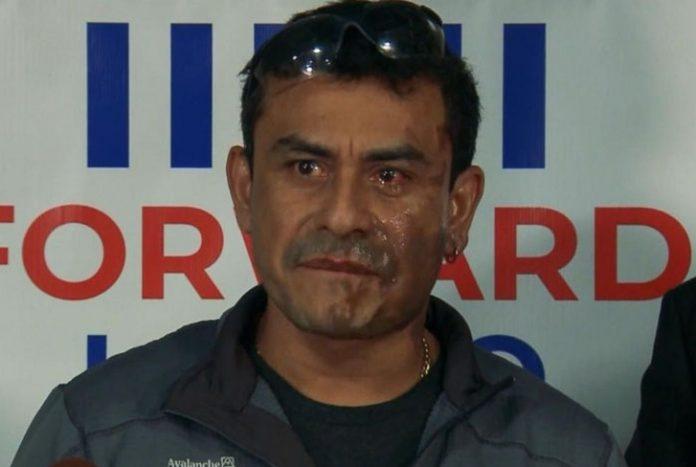 Lanzan ácido de batería a peruano en ataque racista