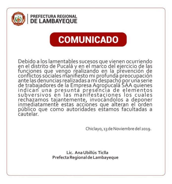 Preocupación por presunta infiltración en Agropucalá
