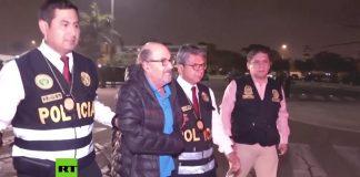 Cinco policías cuidan a Donayre para que no atente contra su vida