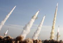 misiles disparados contra tel aviv