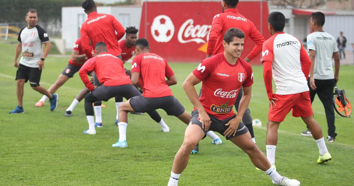 Bicolor inició prácticas para  enfrentar Colombia y Chile