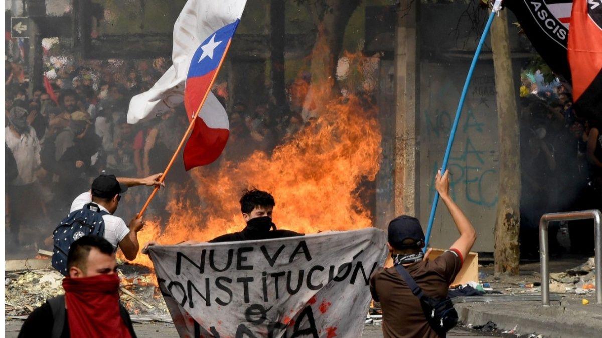 A 22 sube la cifra de muertes  en Chile, por manifestaciones