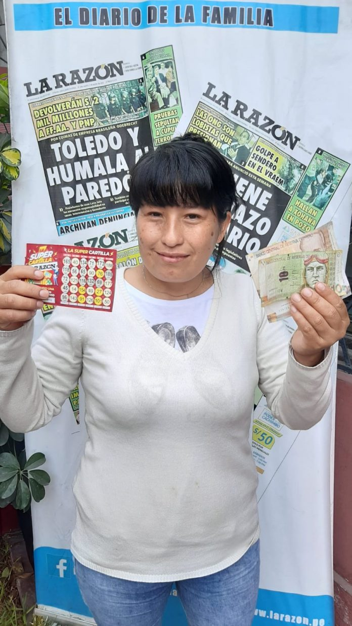 Mariluz Palomino Huicho ganadora