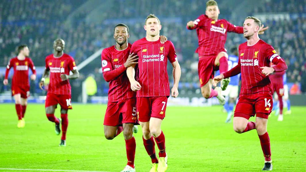 Liverpool vapulea 4-0 al Leycester por la Premier League