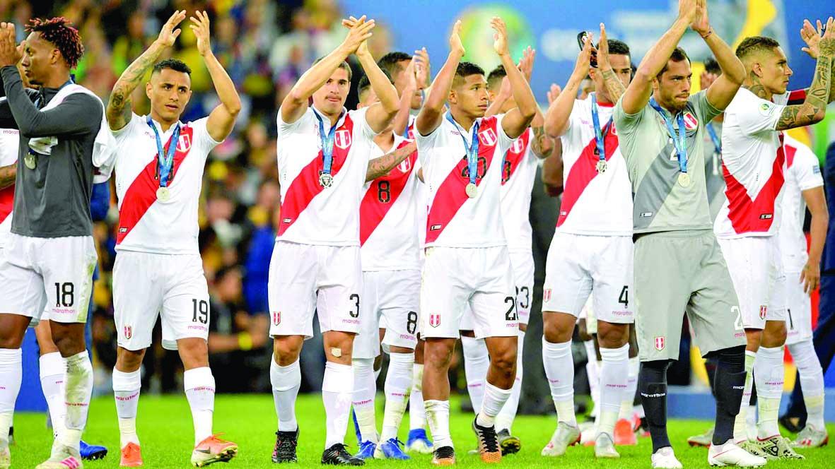"""Perú termina el 2019 fuera del """"Top20"""" del ranking mundial"""