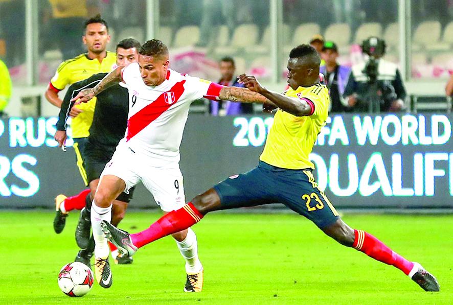Perú conocerá hoy a sus rivales de las eliminatorias