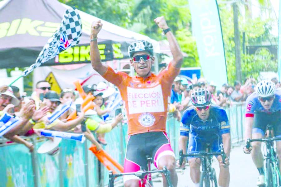 Peruano gana Quinta Etapa de la Vuelta a Costa Rica 2019