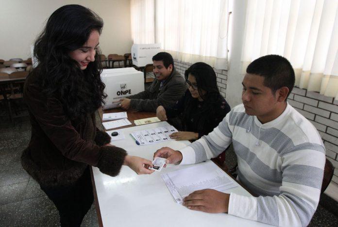 ciudadanos votarán en el mismo local
