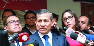 Caso Humala y su esposa
