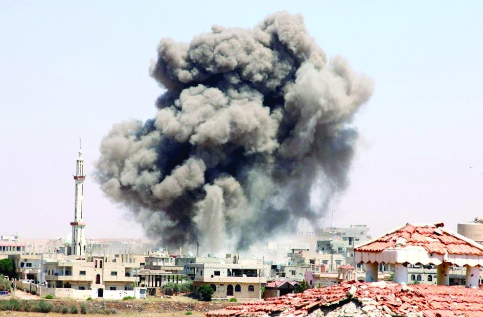 EE.UU. bombardea 5 bases del Hezbollah Irak y Siria