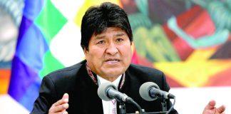 Áñez anuncia orden de captura contra Evo Morales
