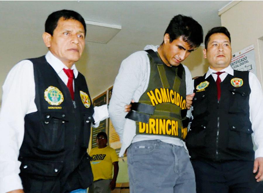 18 meses de prisión preventiva  contra feminicida del Agustino