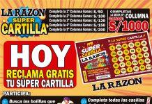 Super cartilla de La Razón