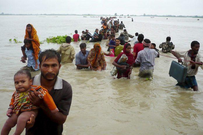 El cambio climático está provocando una subida del nivel del mar.