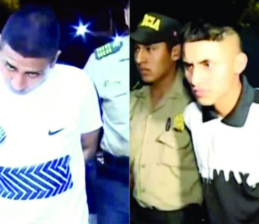 Policía logró capturar a los extorsionadores del hijo de la comerciante.