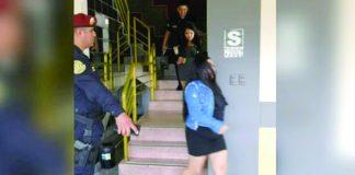 Los mujeres fueron intervenidas debido que son sospechosas de haber drogado a dos hombres