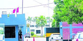 El violento acto se produjo en la Escuela de Oficiales FAP de Surco