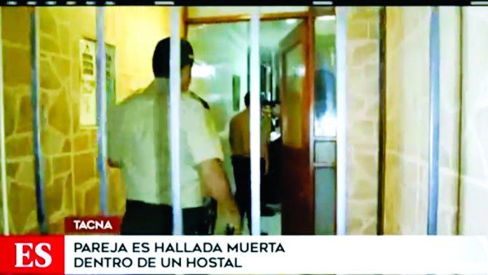 Dueña del hospedaje dio aviso a las autoridades del macabro hallazgo.