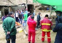 Lluvia provocó huayco que encerró a mineros en Caravelí, Arequipa.