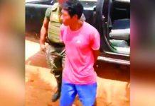 Huánuco: Intentó escapar de la ley pero efectivos del orden lograron reducir al agresor.