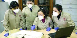 El antiguo texto está constituido por 804 escrituras en 551 folios