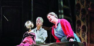"""ópera """"Wozzeck"""", la cual retrata la víspera de la Primera Guerra Mundial."""
