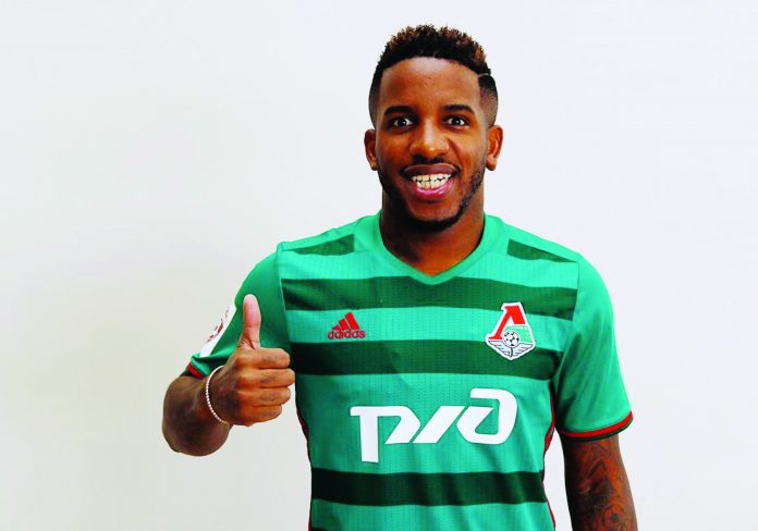 efferson Farfán fue citado por su club, Lokomotiv de Moscú