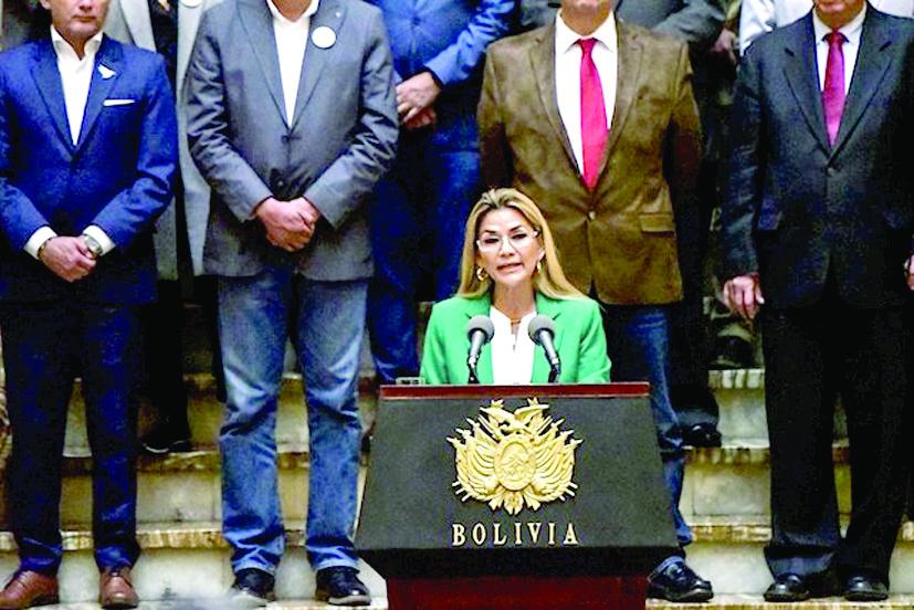 El gobierno interino de Bolivia rompió relaciones con Cuba
