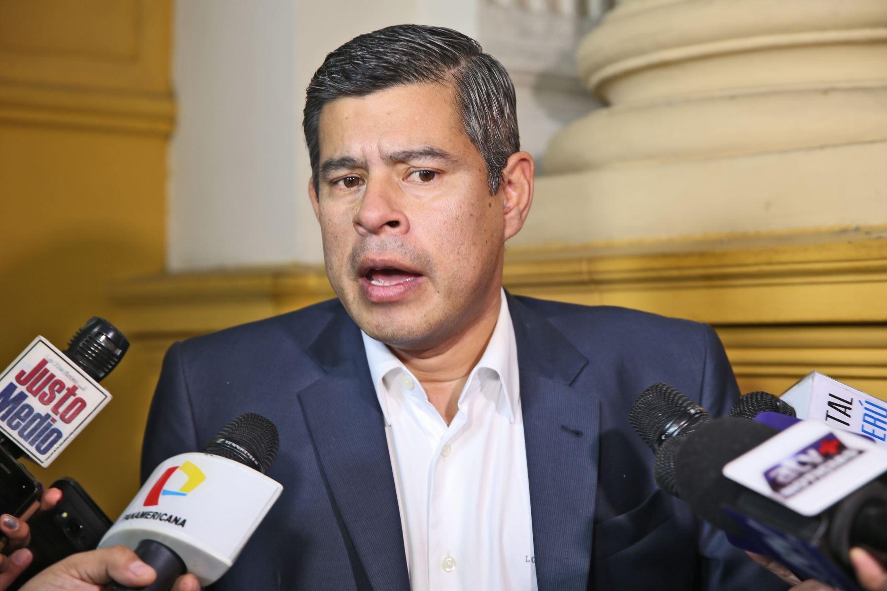 Galarreta mostró preocupación ante observadores de UE