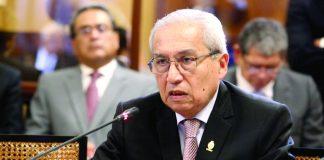 MP en contra del ex fiscal Pedro Chávarry