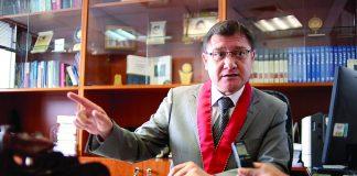El fiscal Jorge Chávez Cotrina asegura que el Gobierno perdió la oportunidad de realizar una verdadera reforma judicial.