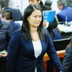 Situación de Keiko Fujimori se definirá a más tardar el 11 de enero.