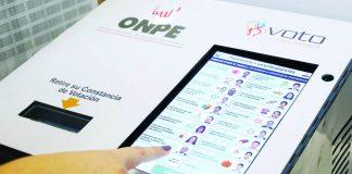 Voto electoral electrónico