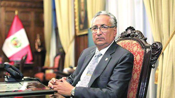 José Luis Lecaros dijo que el proceso será archivado y justificó no haber denunciado gestiones que hicieron ante él exmiembros del CNM para conseguir favores a terceros.