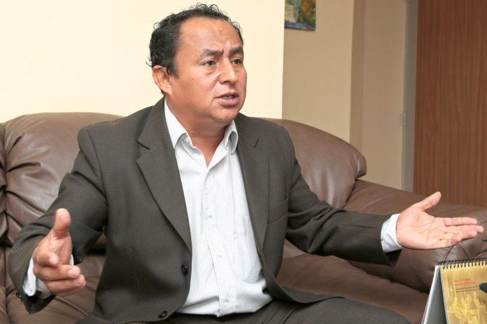 Gregorio Santos fue condenado por corrupción a 19 años y cuatro meses de prisión.