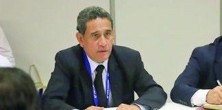 El gobernador regional de Cajamarca, Mesías Guevara
