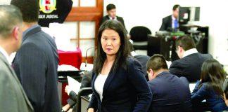 Keiko retorna a la carcel