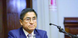 Exjuez César Hinostroza señaló, a través de su abogado, que no existen argumentos que sustenten acusación de cohecho pasivo.