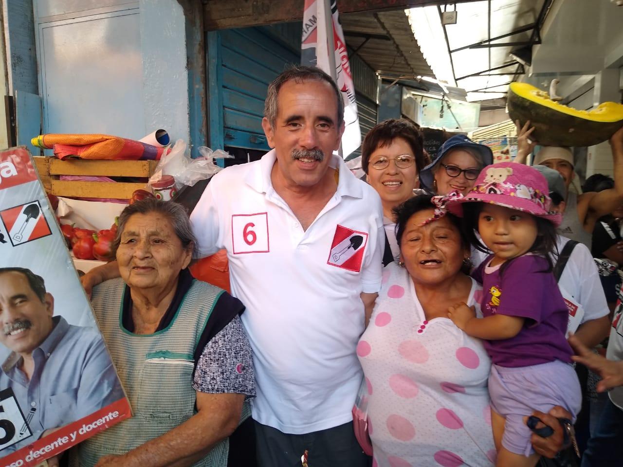 "Burga: ""Haré que 8 millones de peruanos pasen a trabajar al sector formal"""