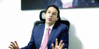 Mijail Garrido Lecca postula al Congreso por el Apra con el número 3 en Lima.
