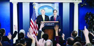 nuevas sanciones económicas contra ocho altos cargos iraníes