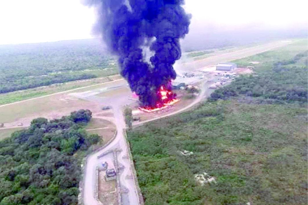 Matan a 3 estadounidenses en base militar en Kenia
