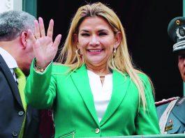 Áñez anunció su candidatura a la presidencia en Bolivia