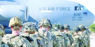 Ejércitos de EE.UU. y Colombia realizan ejercicio de rechazo de un ataque aéreo