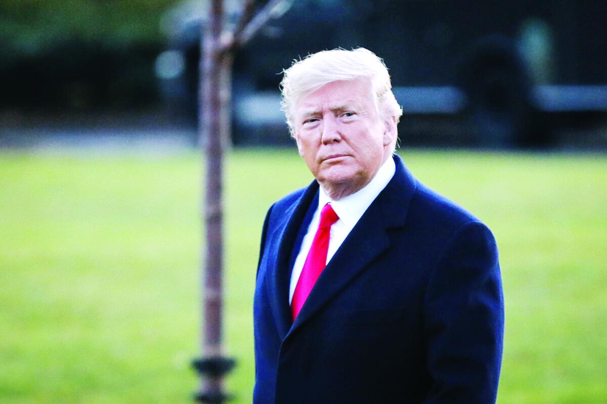 Trump: Ataque fue para parar y no iniciar una guerra