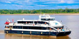 MTC subvencionó pasajes en el ferry Amazonas I