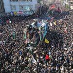 Más de 30 muertos en estampida durante funeral del general Soleimani