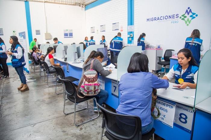 Migraciones amplía horario de atención en sedes de Lima Norte y Lima Sur